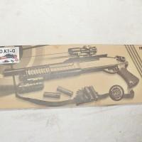 SG K7G Shotgun Spring Mainan Kokang Hi-Grade ABS (Non Bonus)