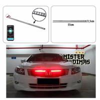 mobil Knight Rider Red LED Incl Remote & StroboBanyak Mode Superbright