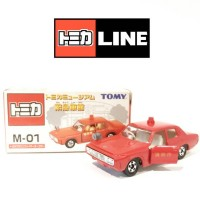 TOMICA TOMY M-01 TOYOTA NEW CROWN MS60 FIRE CHIEF