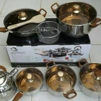 Jual Oxone Panci / Eco Cookware Set 12+2 Pcs OX-933 Murah