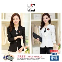 LINDA - Okechuku Woman Blazer With Bross Long Sleeve Fashion
