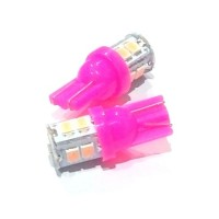 LAMPU SEN COLOK T-10 LED PINK (ISI 2PCS)