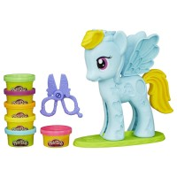 Play-Doh My Little Pony Rainbow Dash Style Salon - B0011