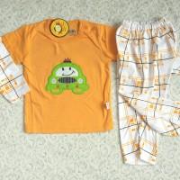 Piyama Anak / Baju Tidur Anak Car (1-3 Thn)