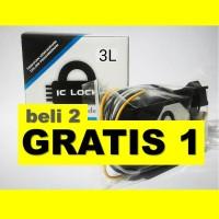 Beli 2 GRATIS 1 - IC Lock tipe 3L (3 sandi) Pengaman Sepeda Motor