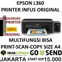 EPSON L360 ALL IN ONE PRINTER INFUS ORIGINAL
