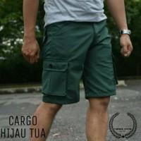 Jual Celana Pendek Cargo/ Cargo Pants Hijau Murah