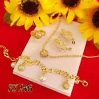 perhiasan set dewasa alpaka cantik