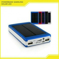 Jual POWER BANK SAMSUNG SOLAR Cell Tenaga matahari 168.000 MAH Murah Murah