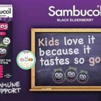 Sambucol Black Elderberry for Kids + Vit C