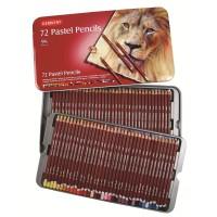 DERWENT Pastel Pencils 72 Tin