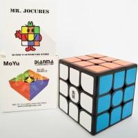 Rubik 3x3 Moyu Dianma Black