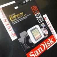 Jual SanDisk Extreme 32GB SDHC UHS-I Memory camera SD Card 32 GB Class 10 Murah