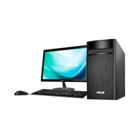 "PC Desktop ASUS K31CD, Core i3, DDR4 4GB, HDD 500GB, LED 18.5"" DOS"