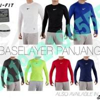 Jual Baju Kaos Fitness / Fitnes / Lari / Futsal Lengan Panjang Nike Adidas Murah