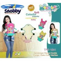 Jual Gendongan bayi snobby ransel double fungsi TPG 1541 marbles series Murah