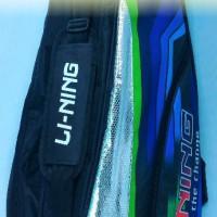 Tas Badminton / Bulutangkis Lining Thermo Guard Black/Blue (New 2017