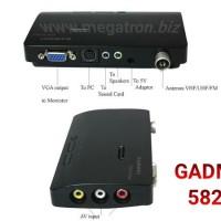 TV Tuner GADMEI 5821 - Nonton TV di monitor CRT/LCD/LED tanpa CPU