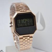 Jam tangan Nixon A15889700 Re-Run Rose Gold Original