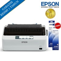 Epson Printer Dot Matrix LX310 - AbuAbu + Free Ribbon