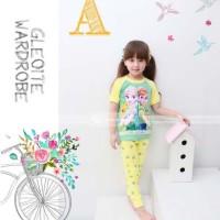 Jual Online Pakaian Tidur Anak Perempuan baju frozen piyama APJ1448