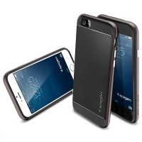SPIGEN NEO HYBRID IPHONE 4, 5/ 5S SOFT CASE, CASING, SGP