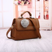 Tas Cute Fashion Jalan Korea Luxury Pesta Yellow Brown Import Kerja
