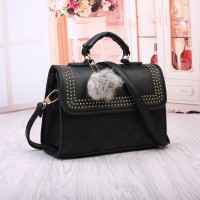 Tas Black Fashion Wanita Import Jinjing Tote Bag Selempang Korea Jalan