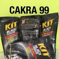 KIT Black Magic Pouch / KIT Semir Ban Pouch kemasan 200 ml