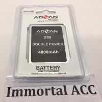 Baterai / Battery / Batre Advan S50 Original 99%