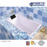 PRE ORDER! Bathtub Zentiro/Fiesto Marble Putih Tipe VANIA 138