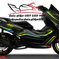 Cutting Stiker/Sticker Decal Motor Yamaha NMAX AGV 46 Project