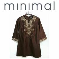 Minimal BrownTunic Dress