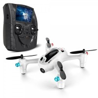 Mainan Helikopter RC Hubsan Fpv X4 Plus H107D+ With 2Mp Wide Angle