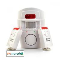 harga Alarm Sensor Gerak - Inflared - Pir Motion Sensor Dual Remote Control Tokopedia.com