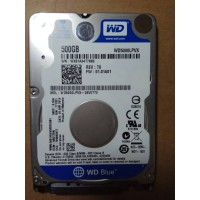 HARDDISK NOTEBOOK WDC 500 GB BLUE 2.5 SLIM 7 mm