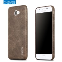 XLEVEL LEATHER VINTAGE SAMSUNG GALAXY ON 5 J5 PRIME HARD BACK CASE