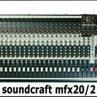 MIXER SOUNDCRAFT MFX 20/2