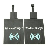 qi wireless charger receiver type b positif untuk hp android