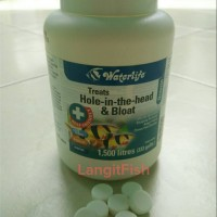 Obat ikan hias Hole in the head & Bloat (kembung) - Octozin