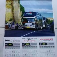 Kalender 2017 Bus PO Pandawa 87