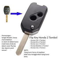 Flip Key Casing Kunci Lipat Flipkey Honda CRV Mobilio City Jazz Brio