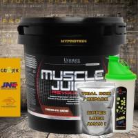 UN Muscle Juice Revolution 2 lbs ECER FREE SHAKER + SCOOPS + BUBBLE