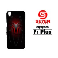 Casing HP Oppo F1 Plus (R9) cool spiderman logo Custom Hardcase