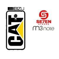 Casing HP MEIZU M3 NOTE caterpillar logo Custom Hardcase Cover