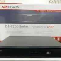 TURBO HD DVR HIKVISION DS -7200 Series Untuk 4 Kamera Cctv