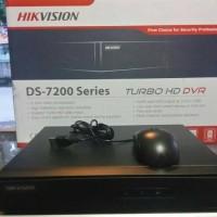 TURBO HD DVR HIKVISION DS - 7200 Series Untuk 4 Kamera Cctv (Original)