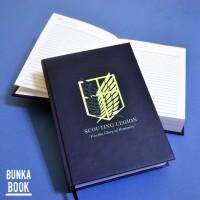 Pocket Book SNK Scouting Legion Hardcover Kertas Bergaris A6