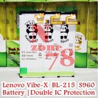 Baterai Lenovo Bl215 Vibe X S960 S968t Rakkipanda Double Power