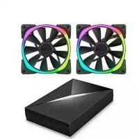 NZXT AER RGB fan 12cm rainbow colors